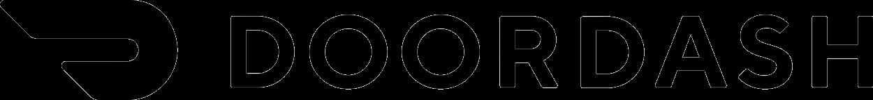 Doordash logo.