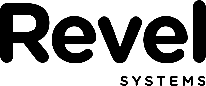 Revel Systems logo.