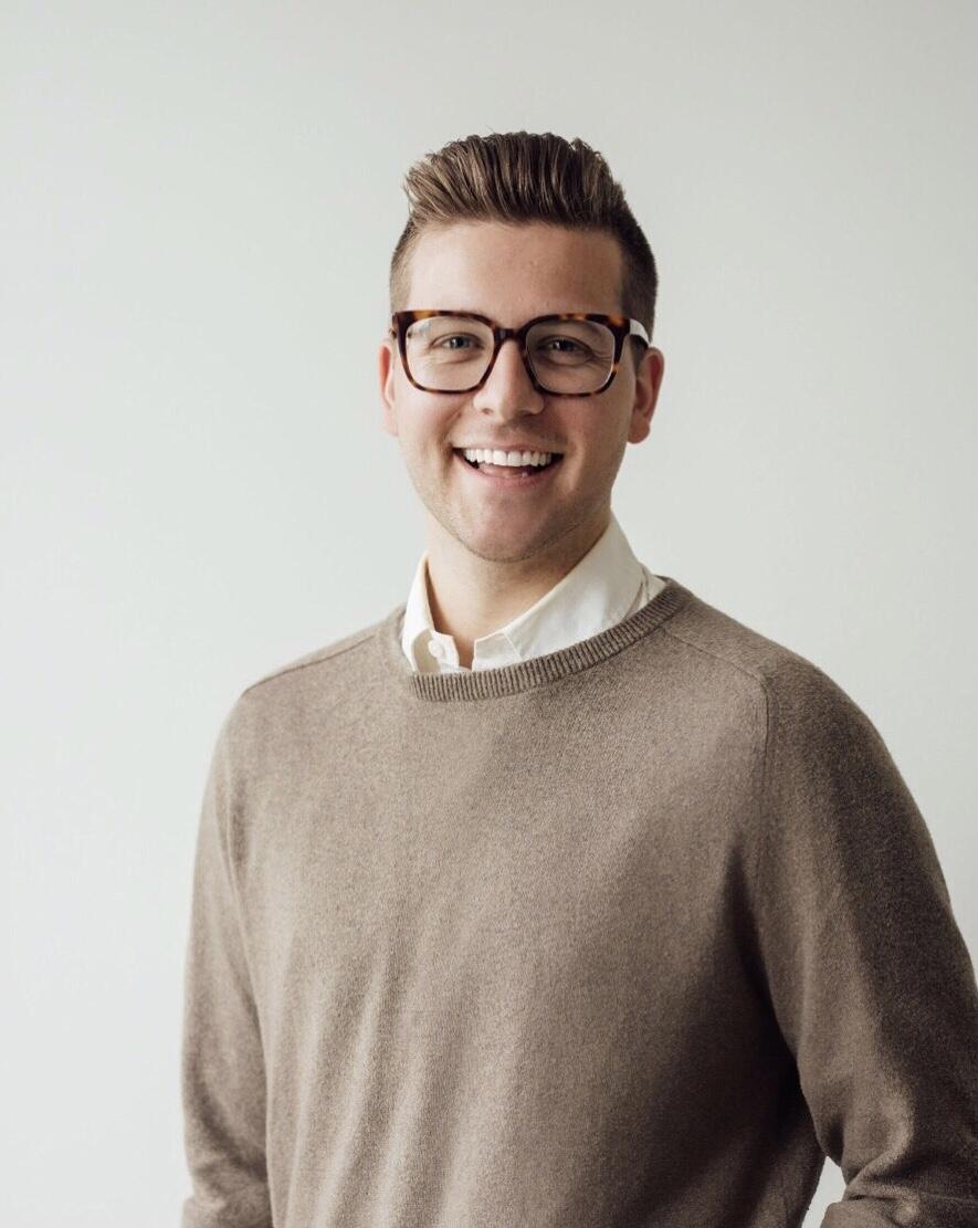 A portrait of Jake Ernst