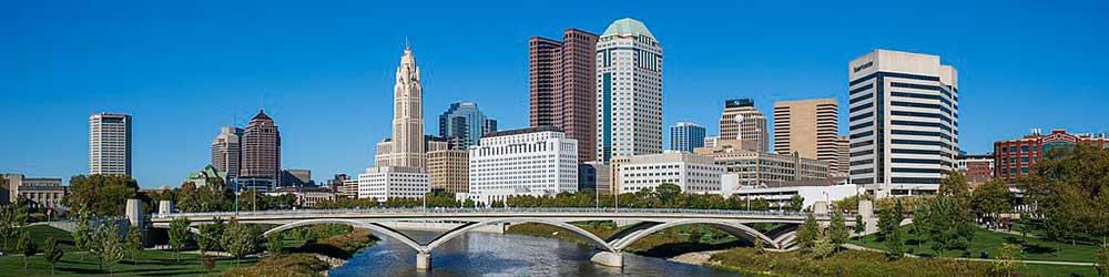Columbus, Ohio Skyline