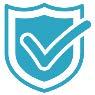security shield icon - decoration