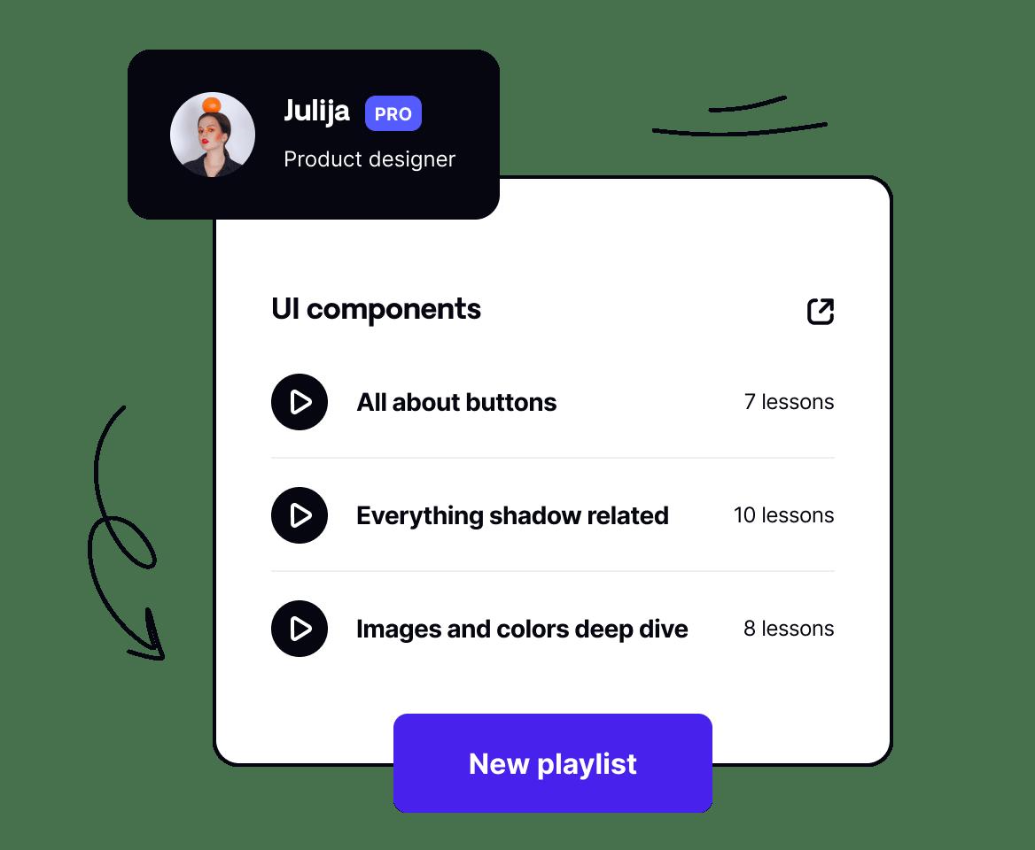 Create custom playlists