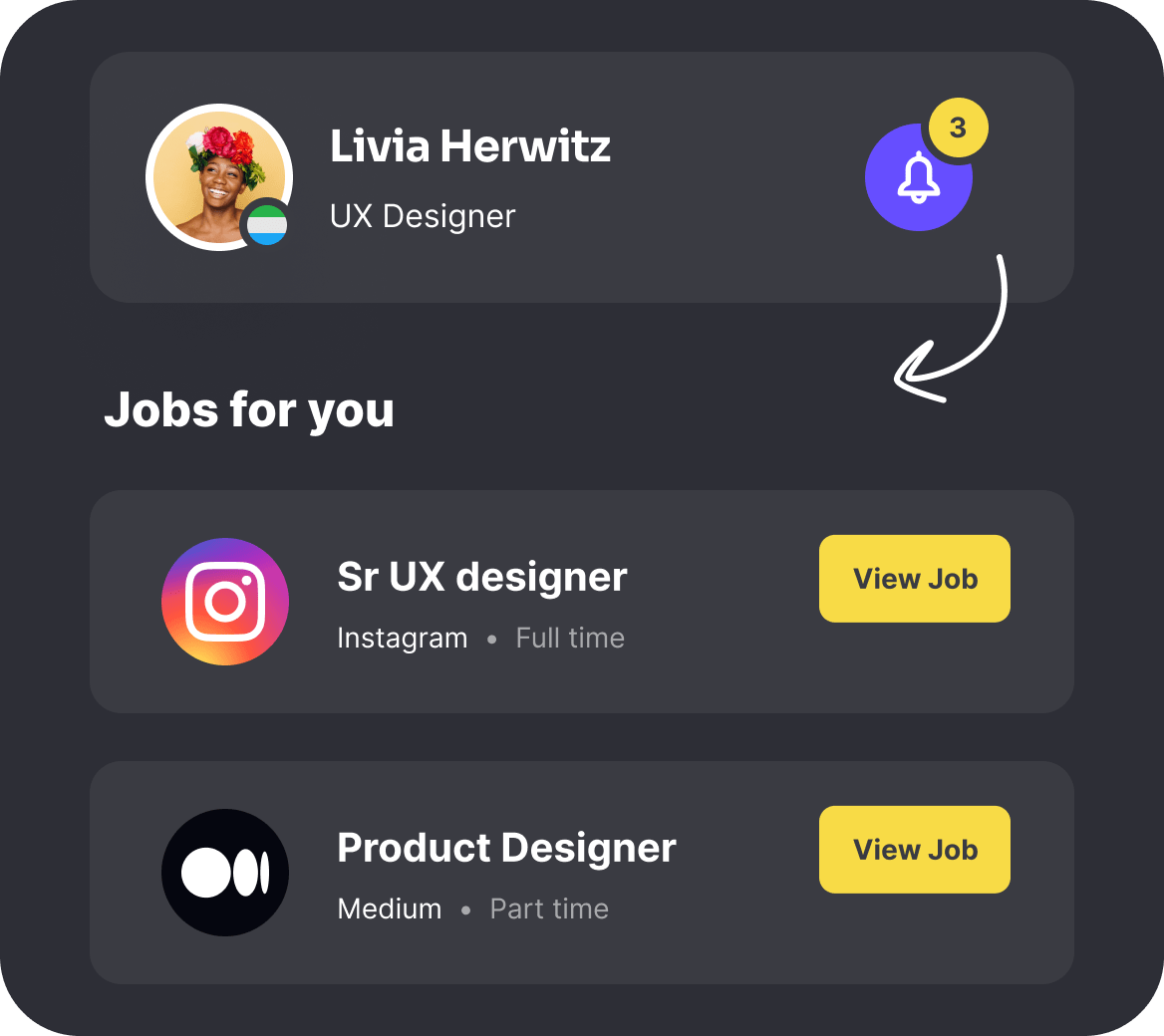 Never worry about your next design job
