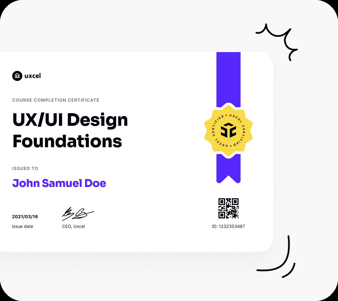 Get Uxcel certified