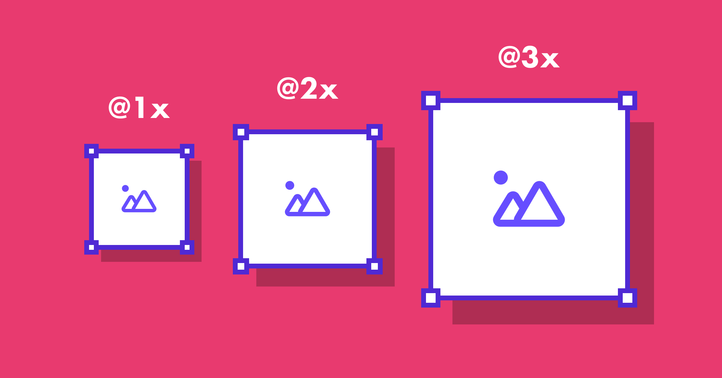 Types of images in UI design