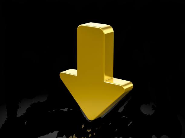 Gelber Pfeil, der die Stimmcollage markiert.
