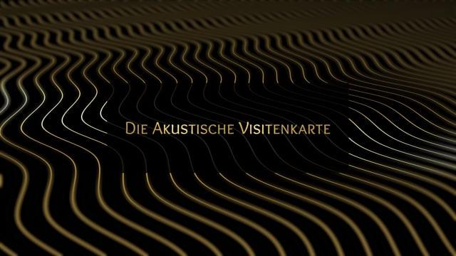 Die akustische Visitenkarte Video-Thumbnail