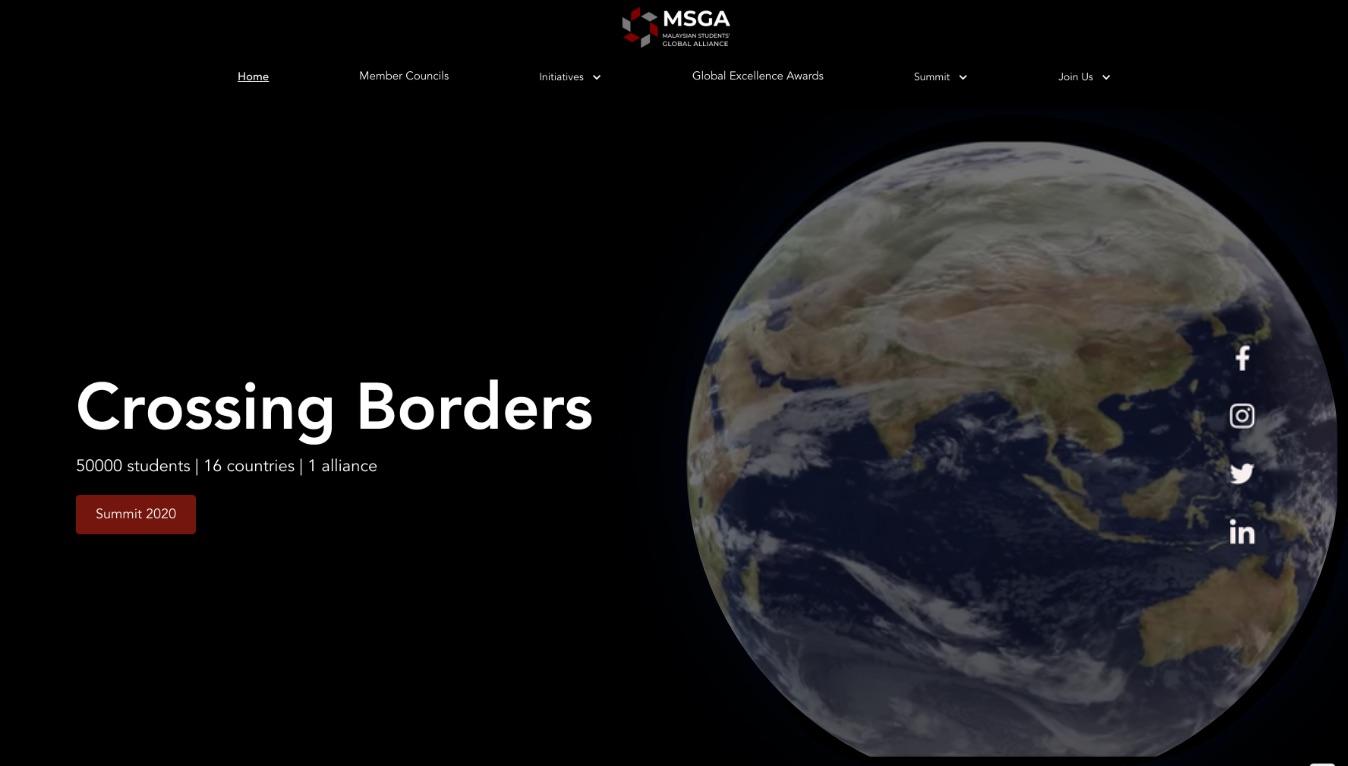 Portfolio landing screen image