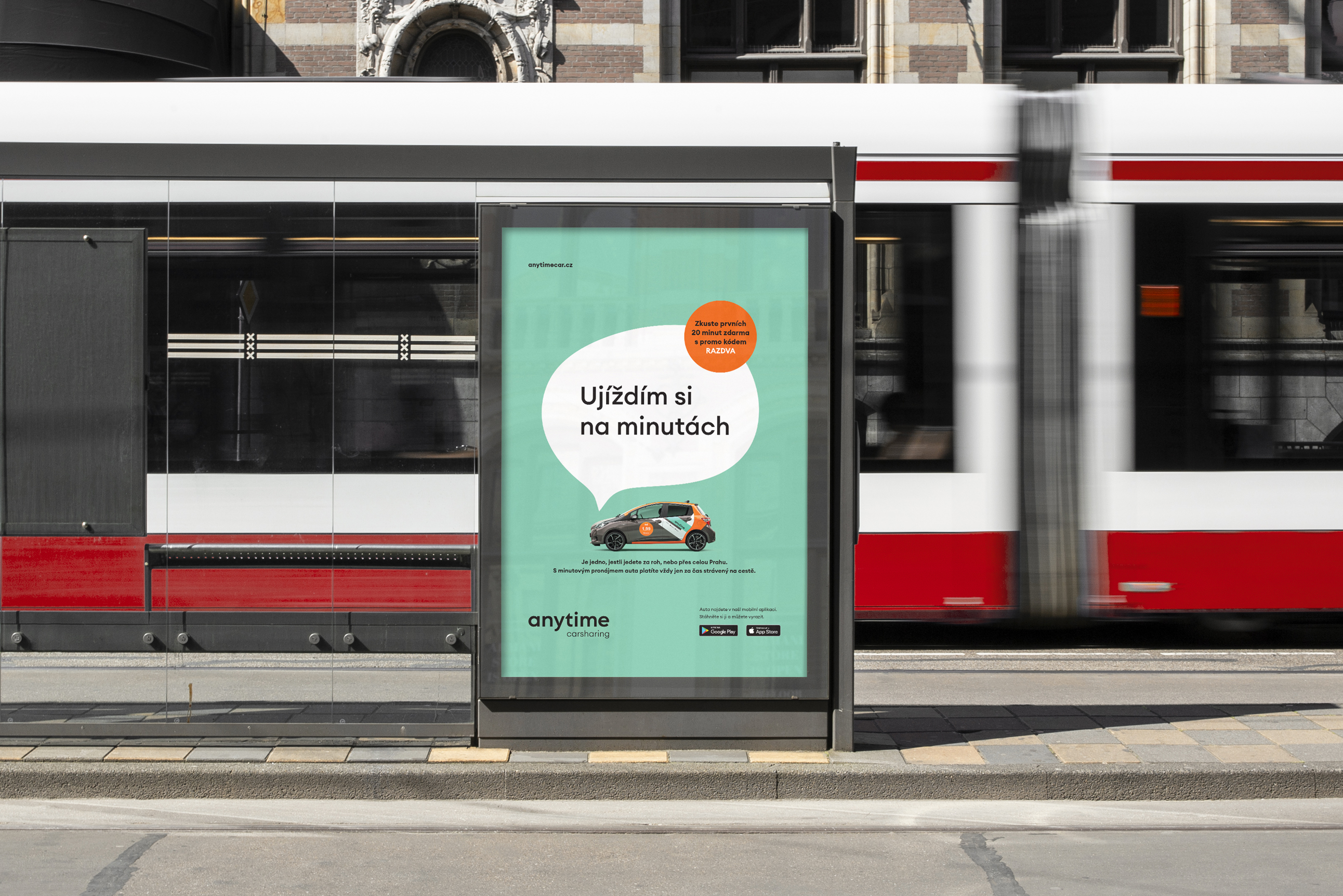 Anytime Carsharing: Letní kampaň