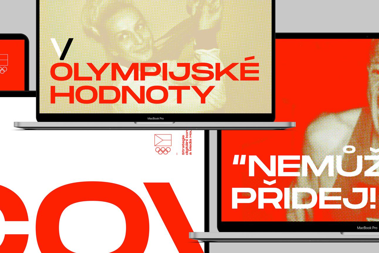 Český olympijský výbor: Vizuální identita interních prezentací