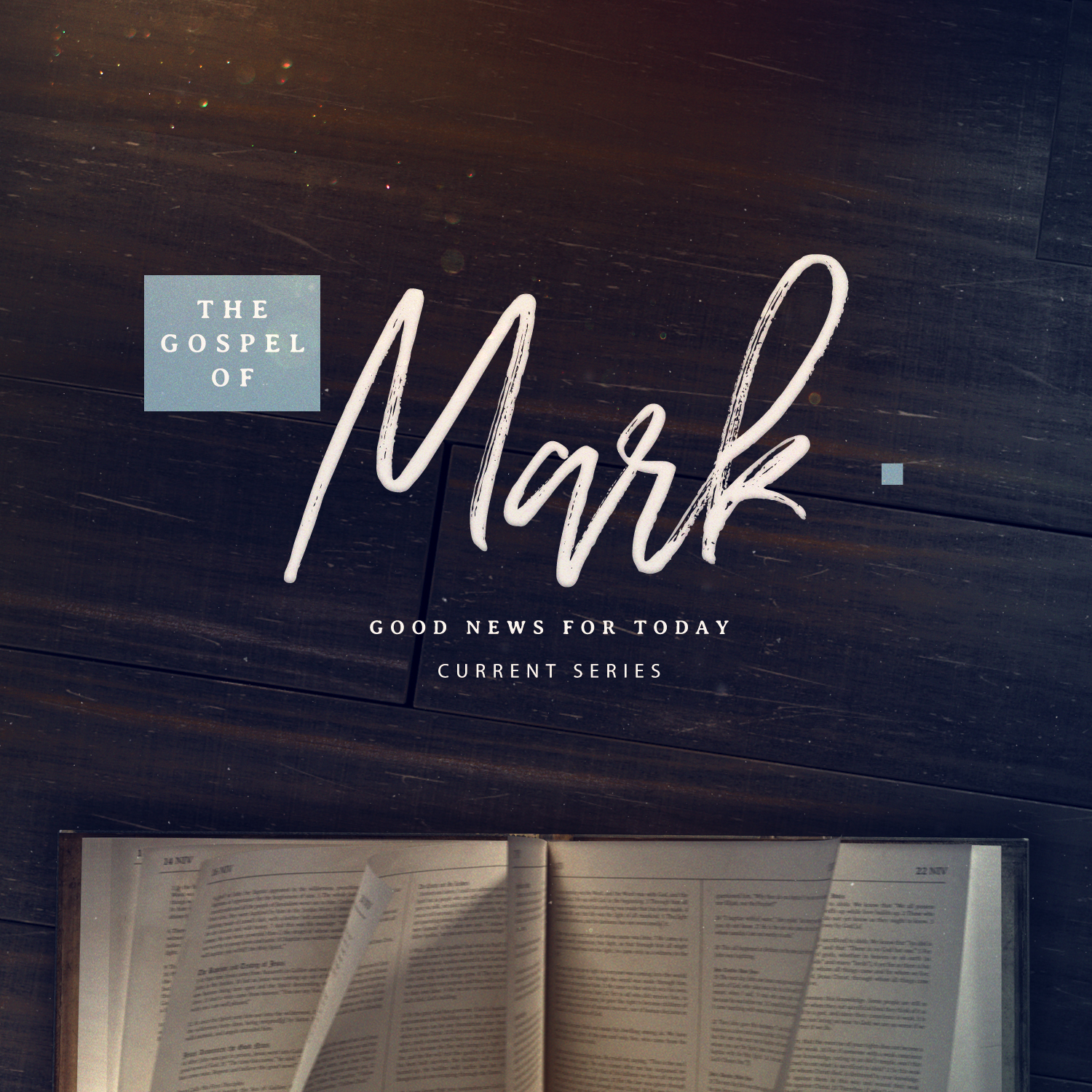 An image of the gospel of Mark