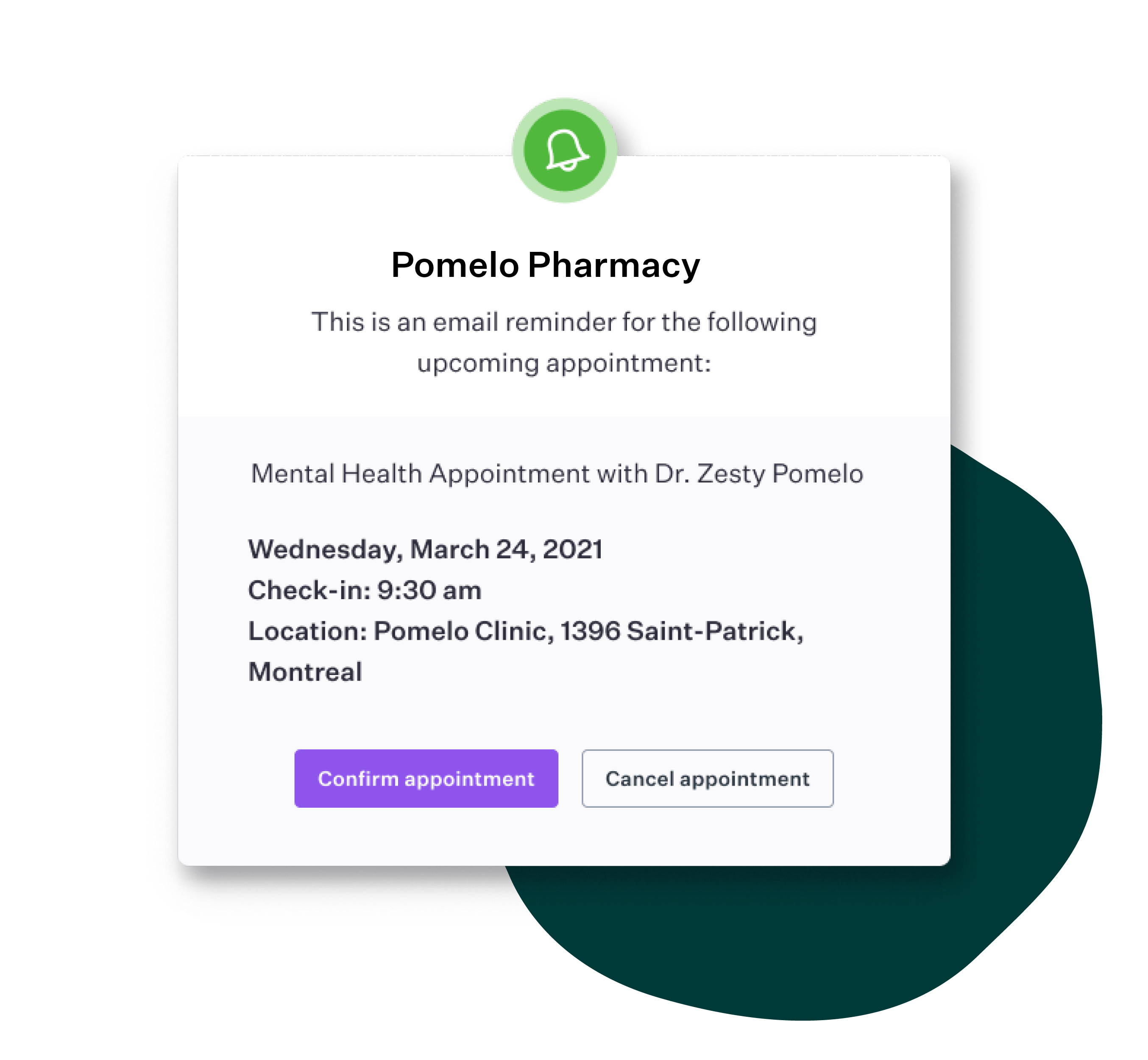 Appointment Reminder Software for Pharmacies