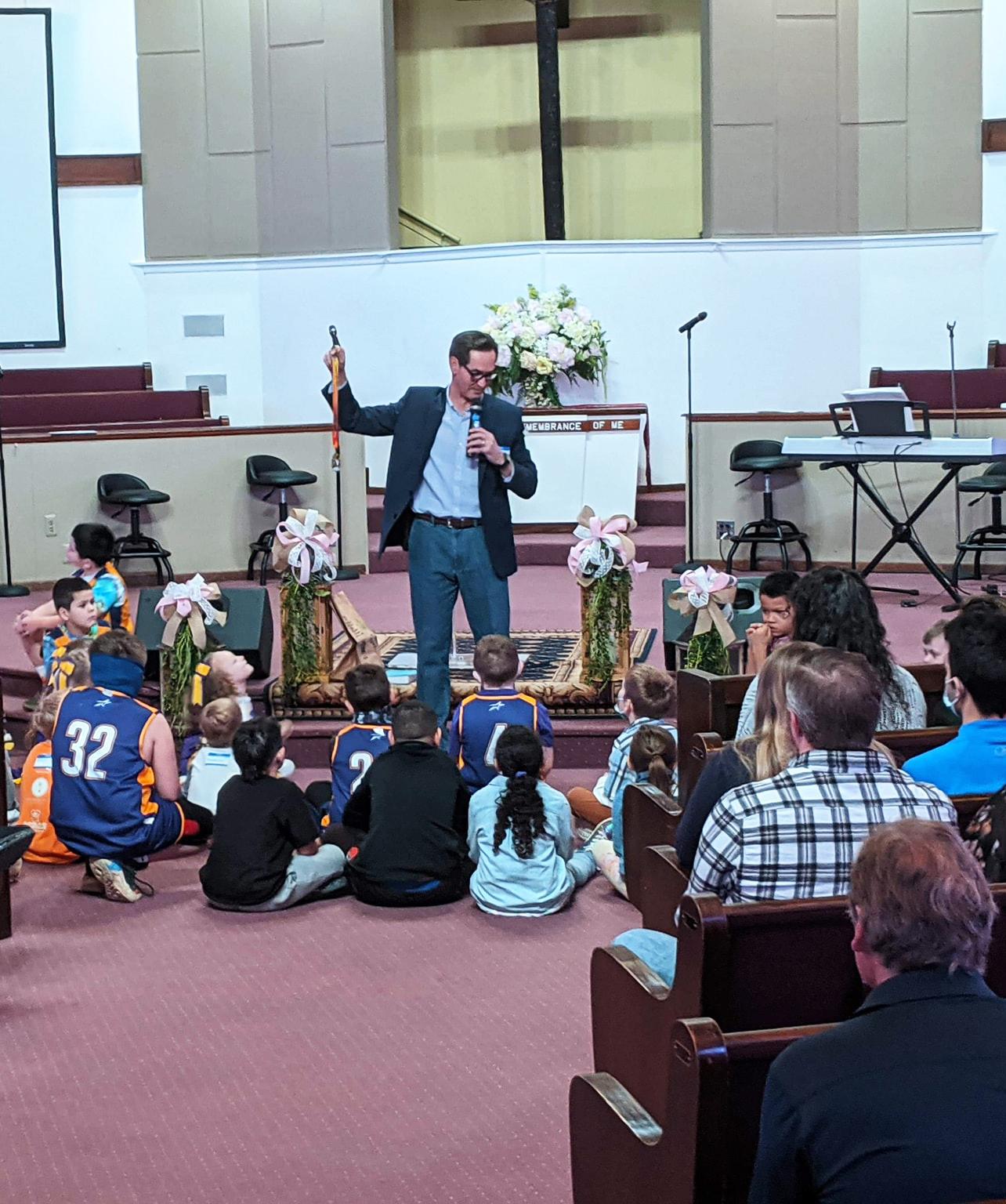 pastor cliff teaching
