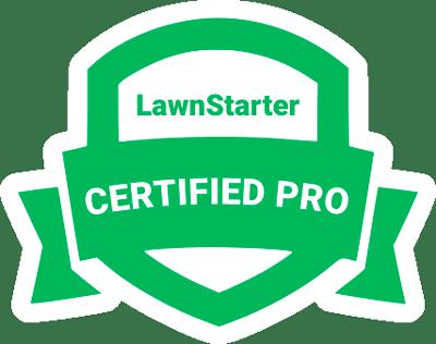 Lawn Starter Certified Pro.