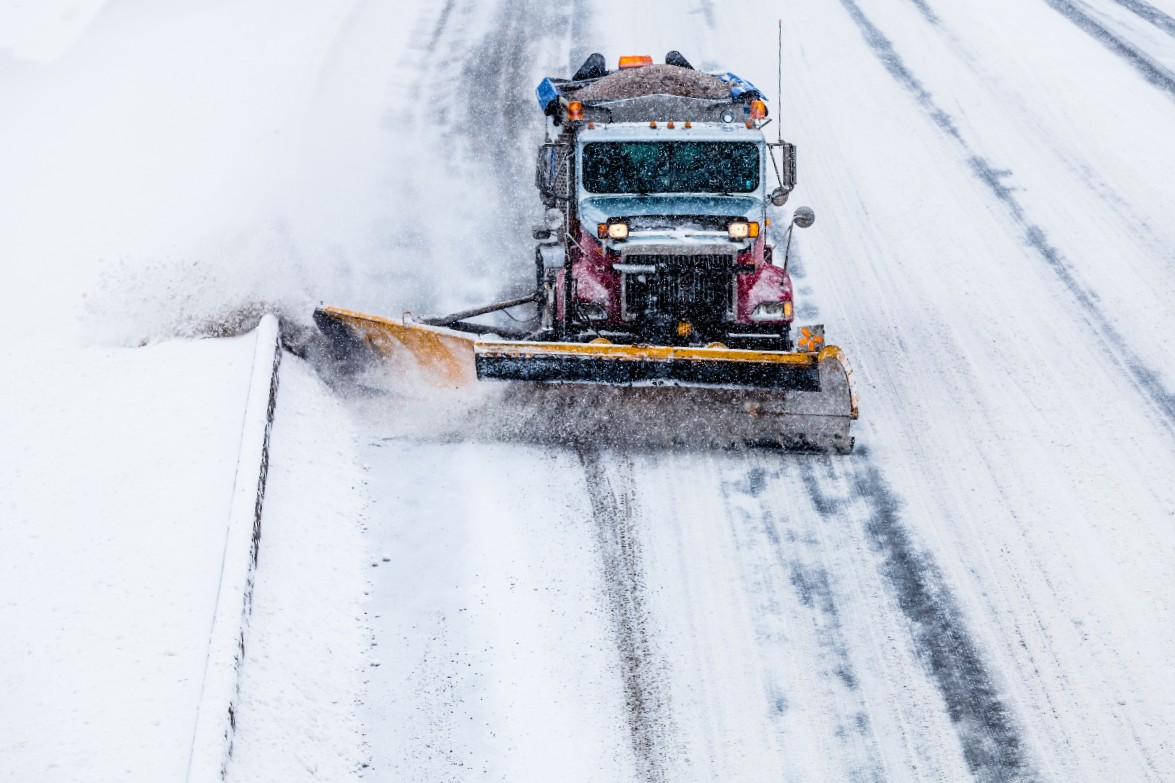 snowplow removal main street