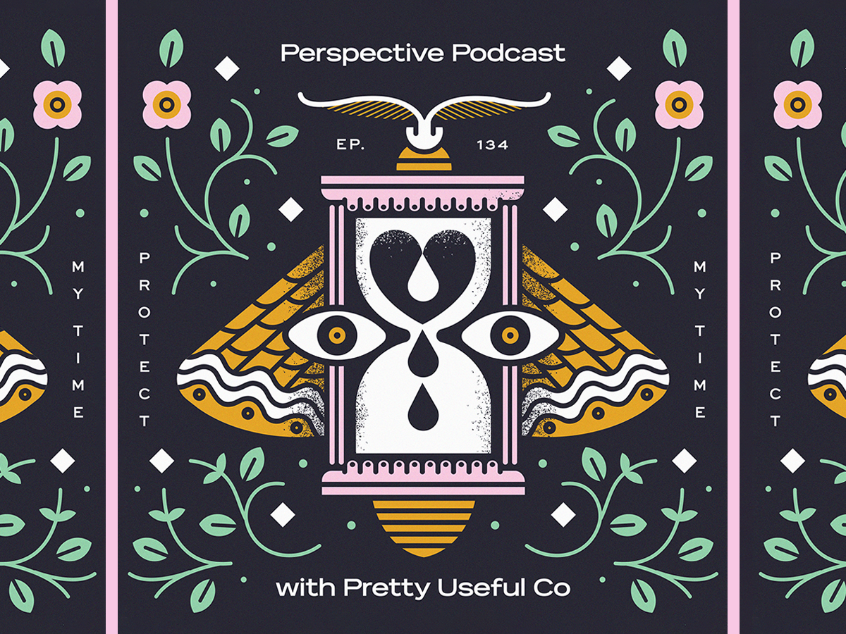 We chat with Scotty Russell of Perspective Collective about protecting your time, taking action - which leads to inspiration/motivation! starting your own merch business, setting boundaries for yourself, and corgis, vendors, processes, pizza, and more.