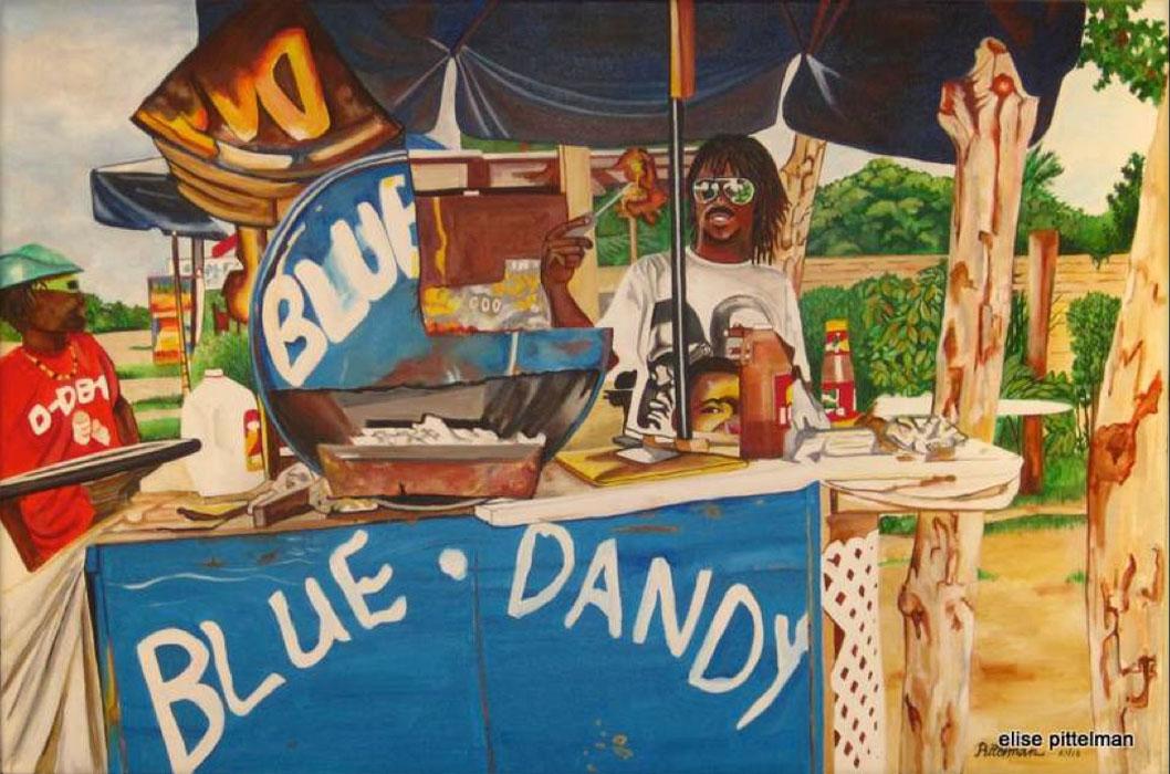 Blue Dandy 24x36