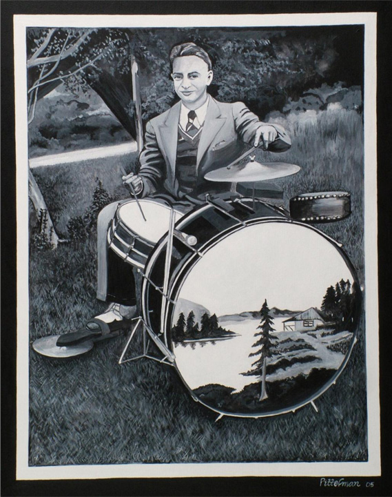 Daddy's Keeping the Beat 18x24