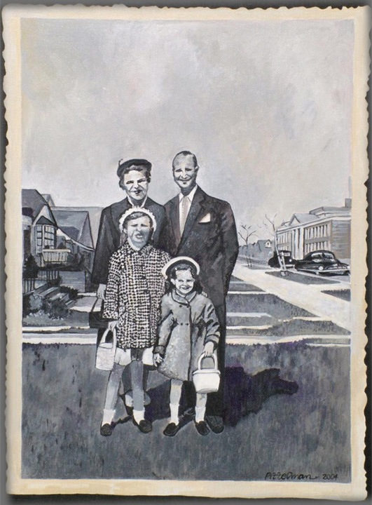 Family Outing 12x16