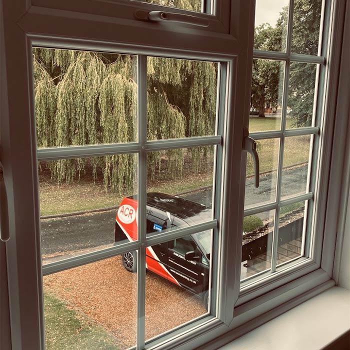 Window cleaning in Huntingdon