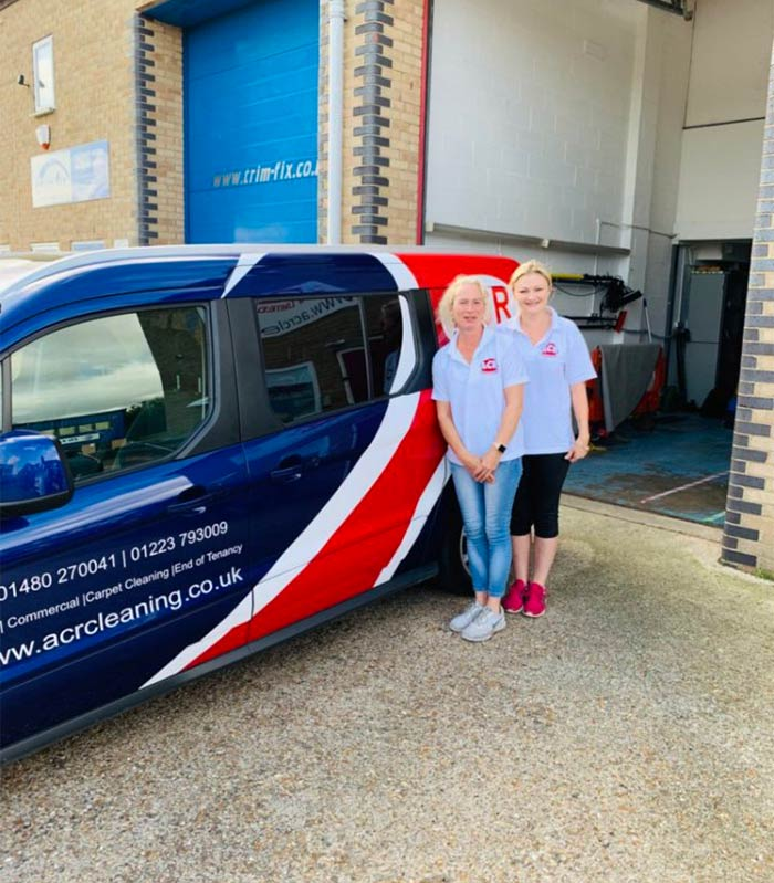 Linda and Louisa from ACR Cleaning