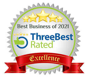ACR Cleaning received a ThreeBest Rated Best Business of 2021 award