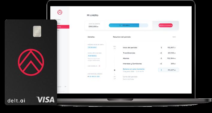 delt.ai tarjeta corporative y plataforma digital para visualizar y gestionar gastos empresariales para empresas de México