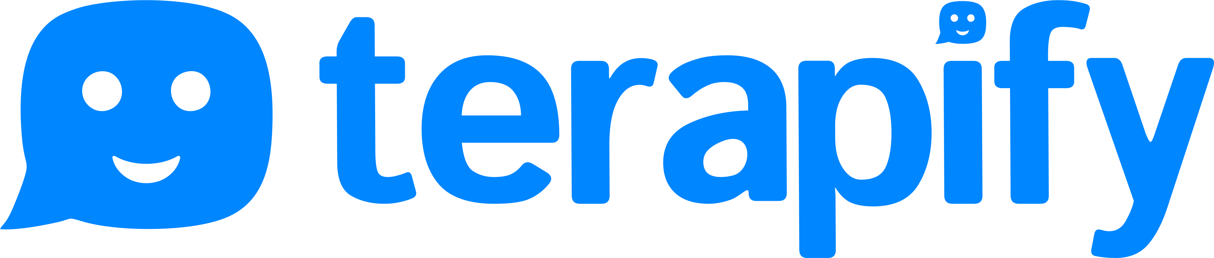 Logo from a client, Terapify