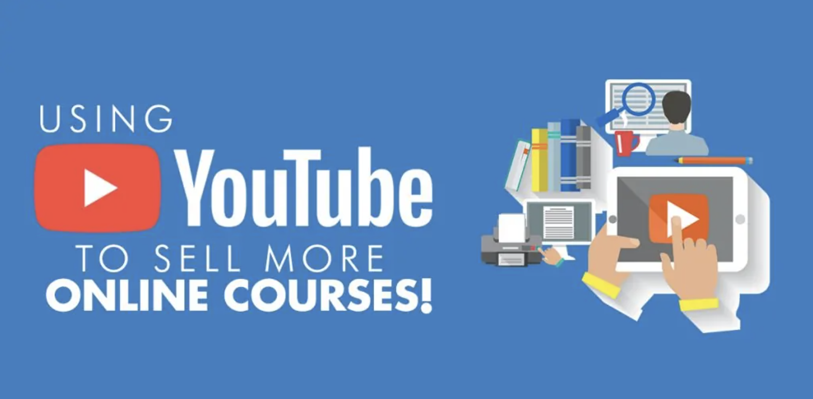how to promote a course on youtube