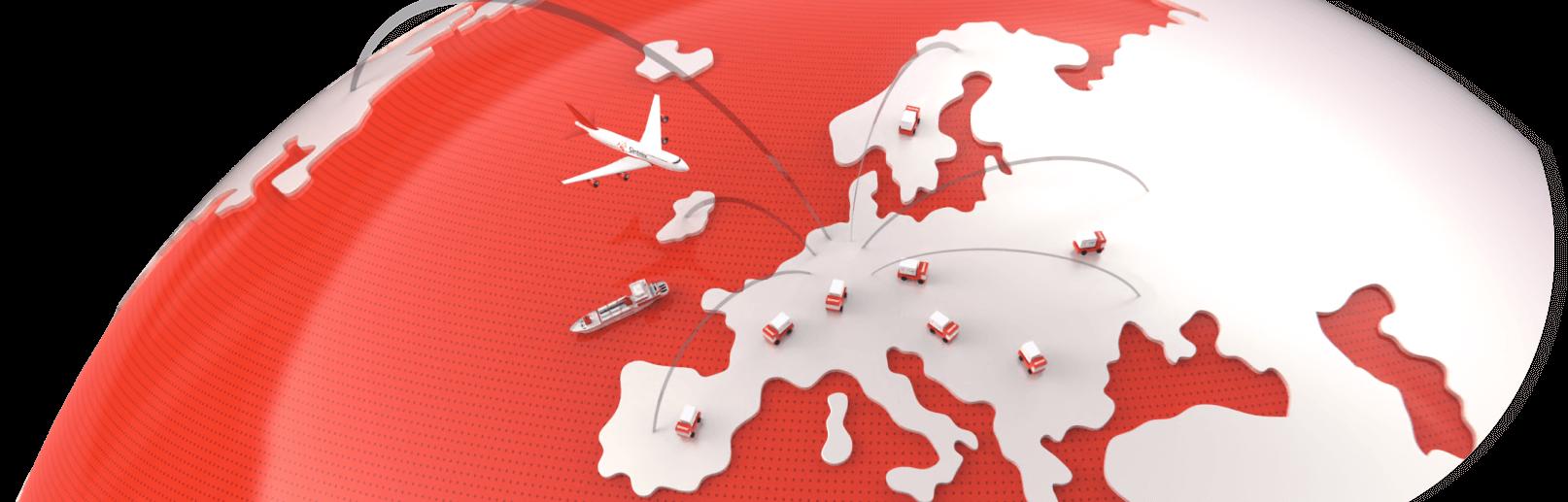 Transport & Spoedtransport naar Heel Europa en daarbuiten
