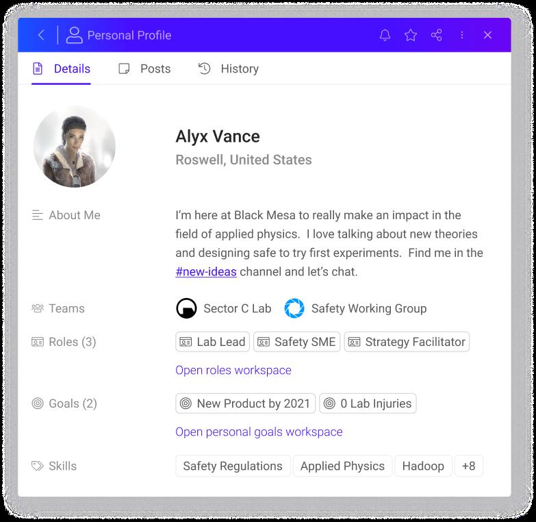 Tansparent Structure feature imagem, personal profile sobol