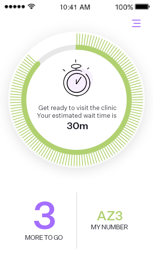 Virtual Waiting Room - Mobile Patient App