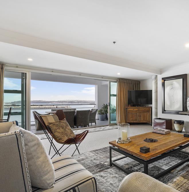 Deluxe Harbourside Three Bedroom