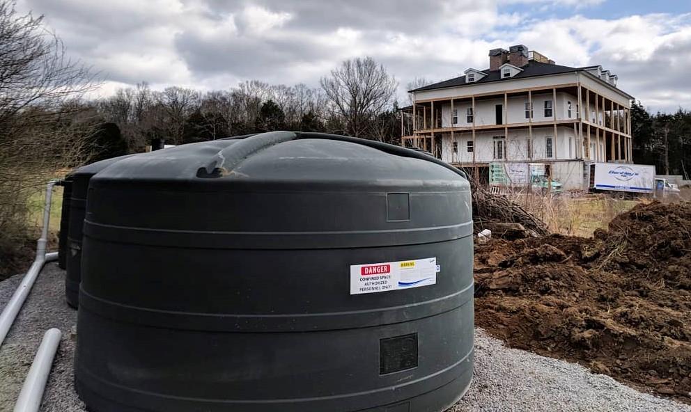 Rainwater Harvesting Above Ground Storage