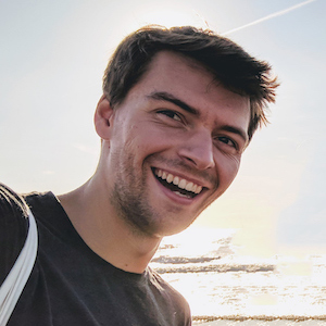 Emile-Victor smiling