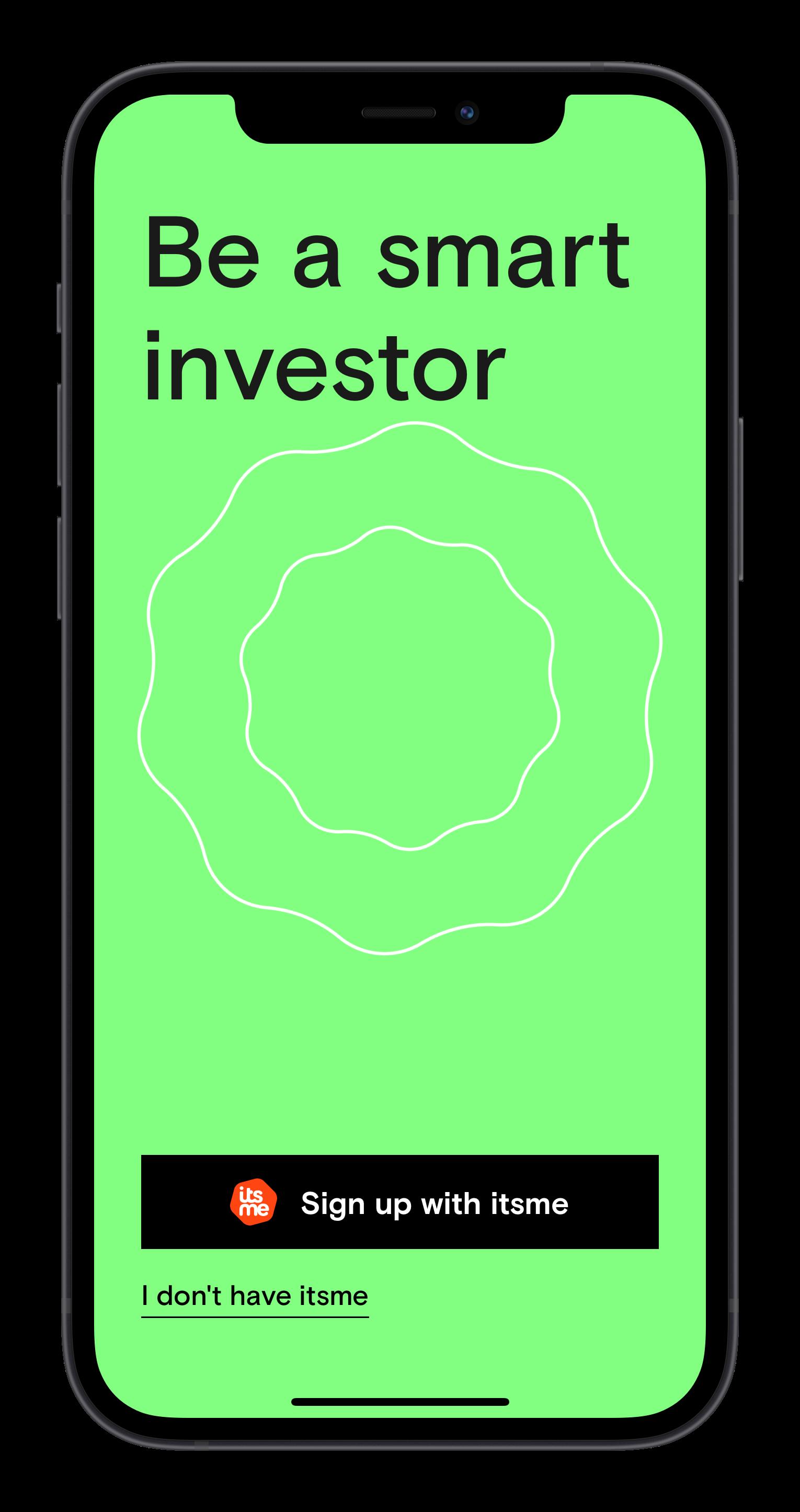 Home screen of the Curvo app