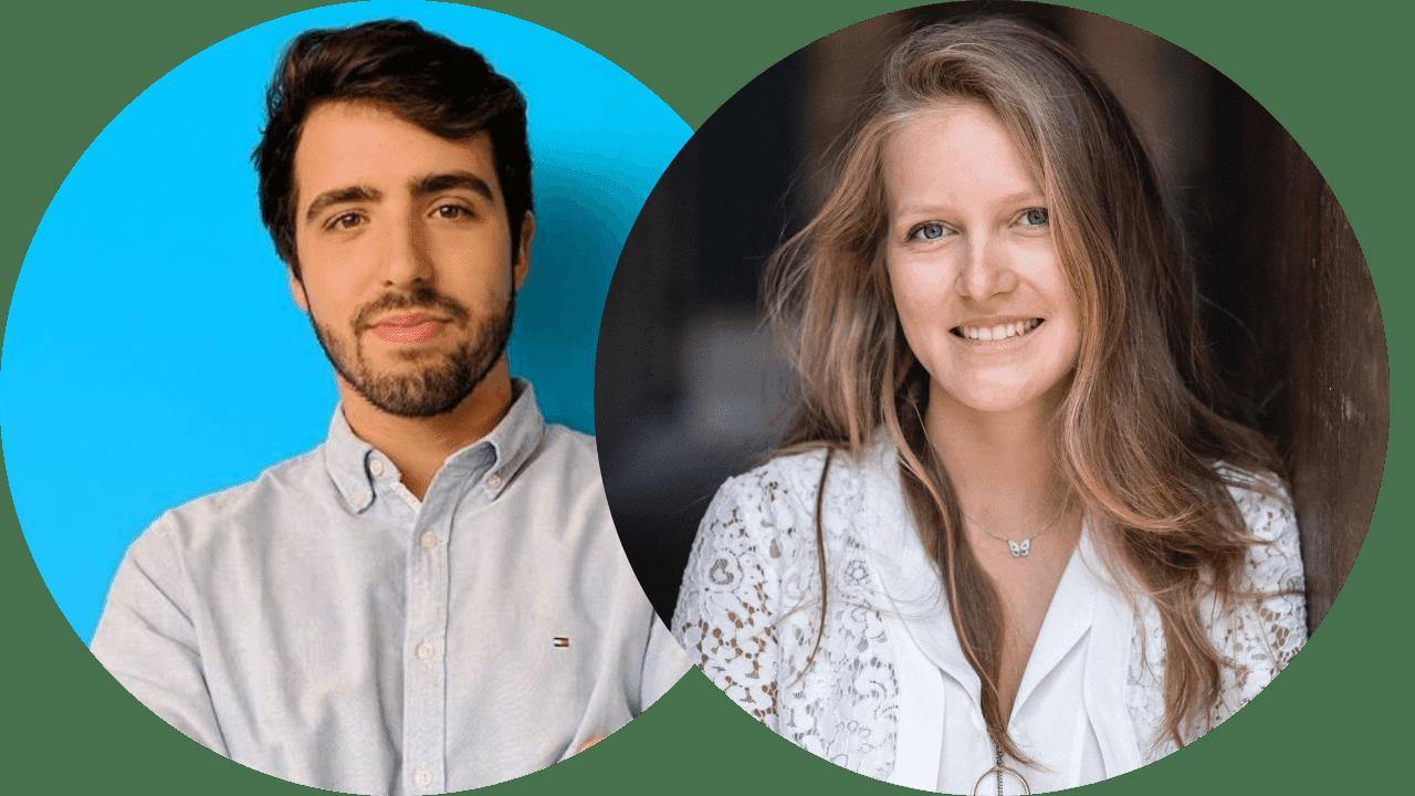 Pierre Guilbaud et Megane Boutelou fondateurs de Marketing Flow