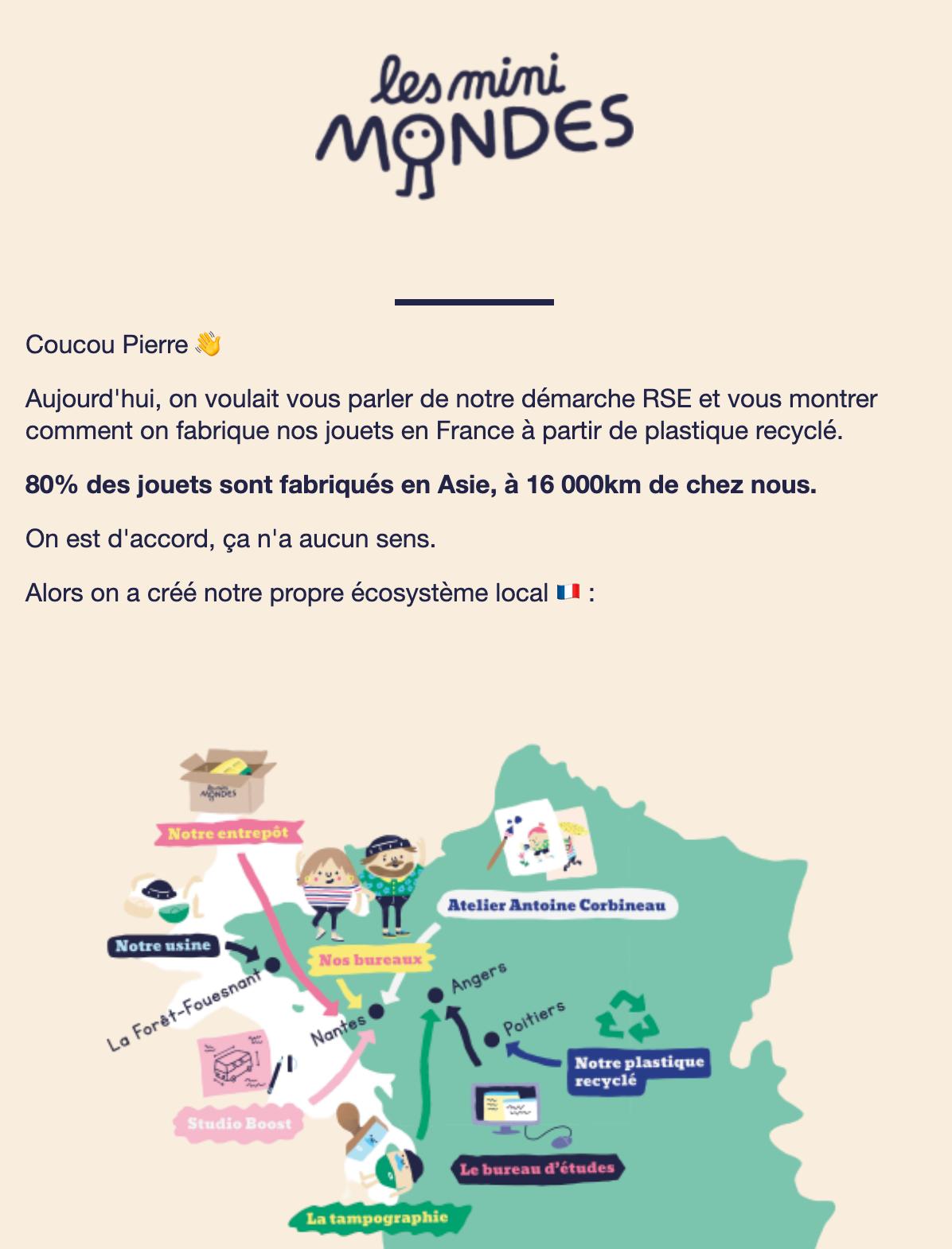 Newsletter des Mini Mondes
