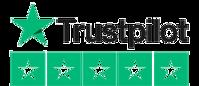Logo Trustpilot avec 5 étoiles