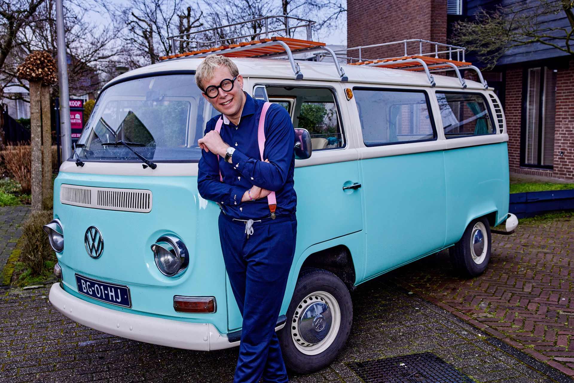 Geert Klaver over zijn rol als tv-makelaar in 'Kinderen kopen een huis'