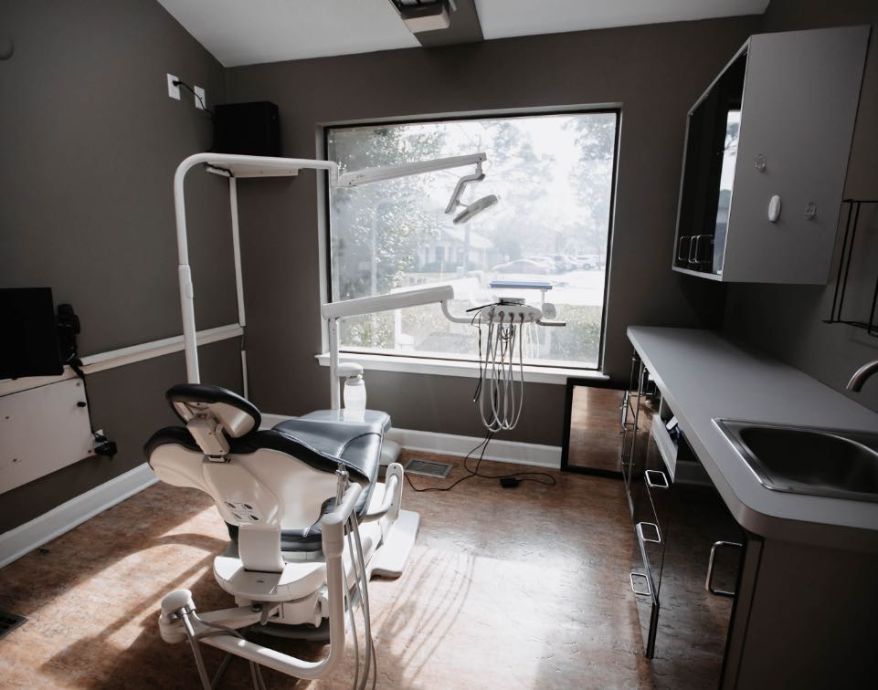 Photo of a dental treatment suite