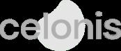 Celonis logo  - white