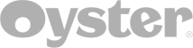 Oyster logo  - white