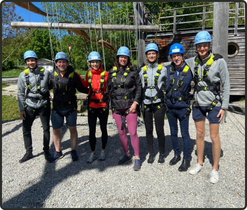 We love to encourage team building and give each team an off-site budget for up to 3 events per year anywhere in the world.
