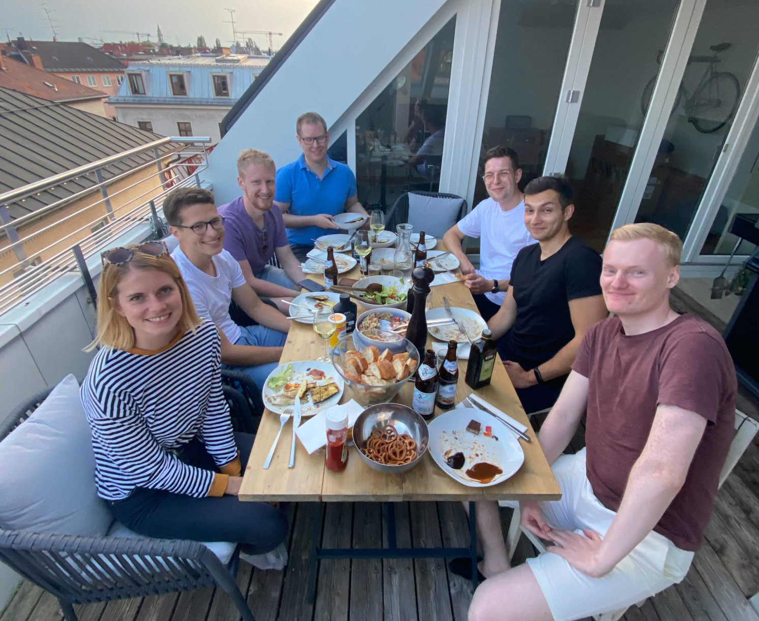 The product team dinner