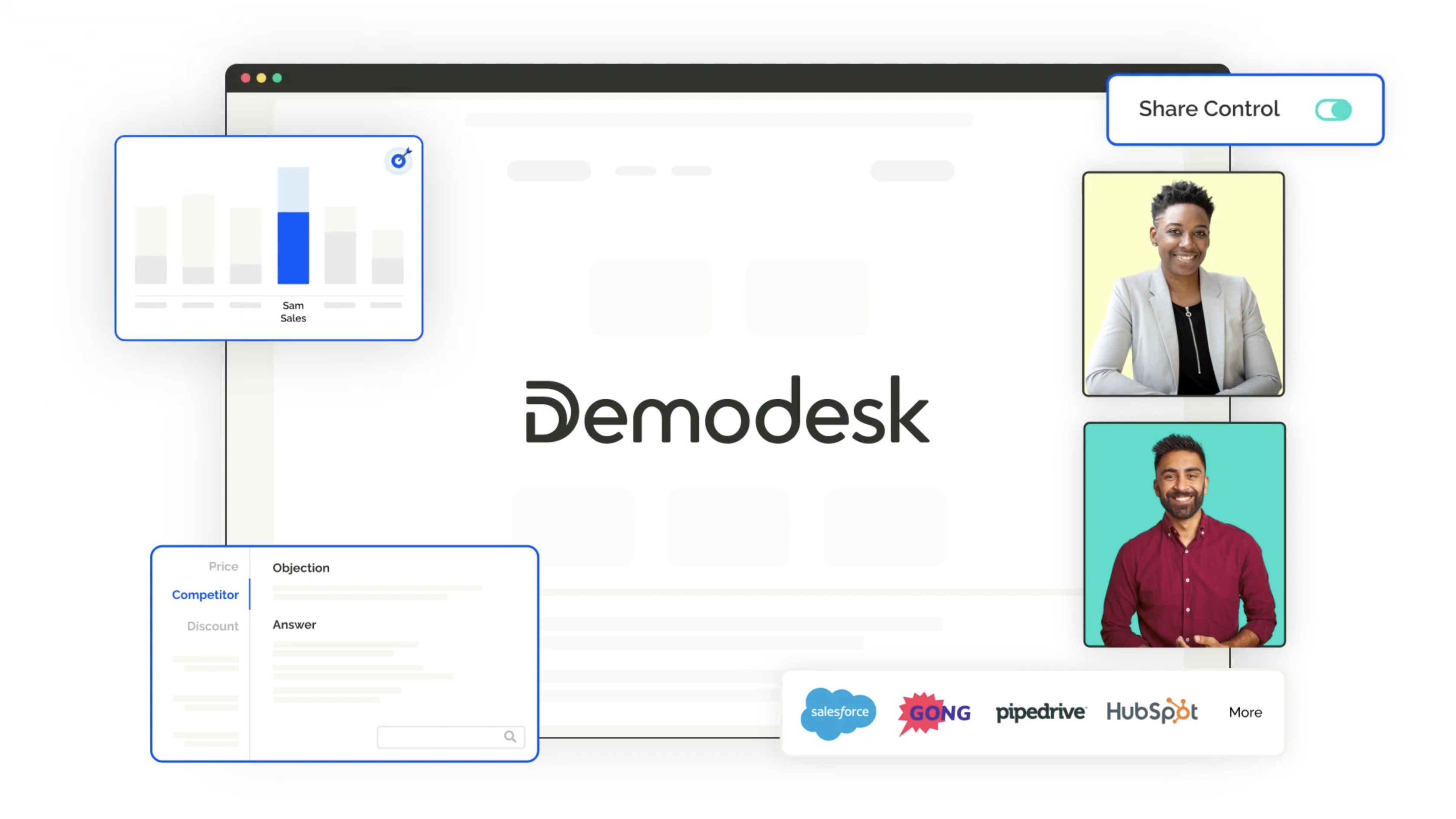 Video preview for Demodesk's Product Overview.