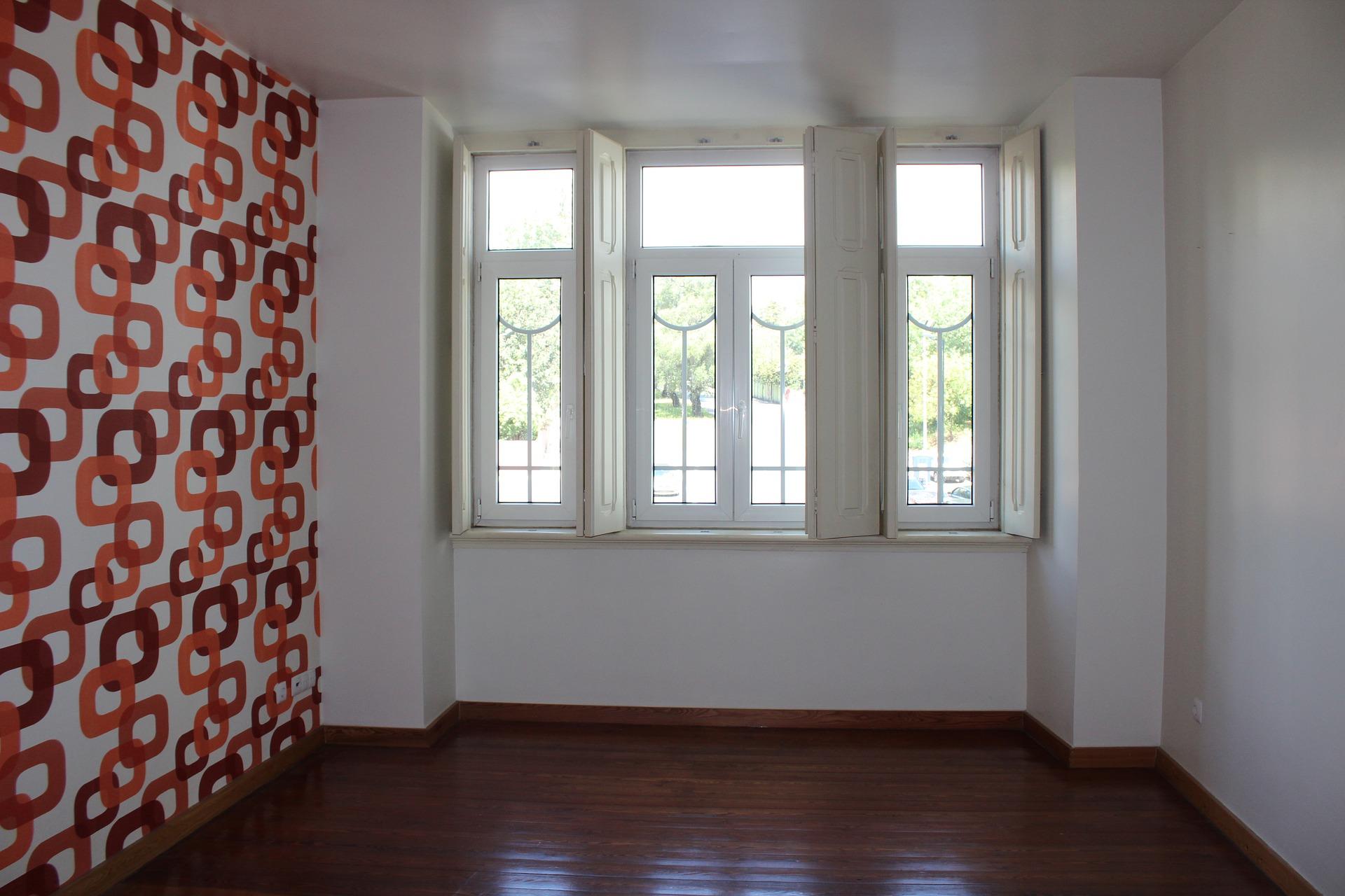 Homestaging in leerer Wohnung