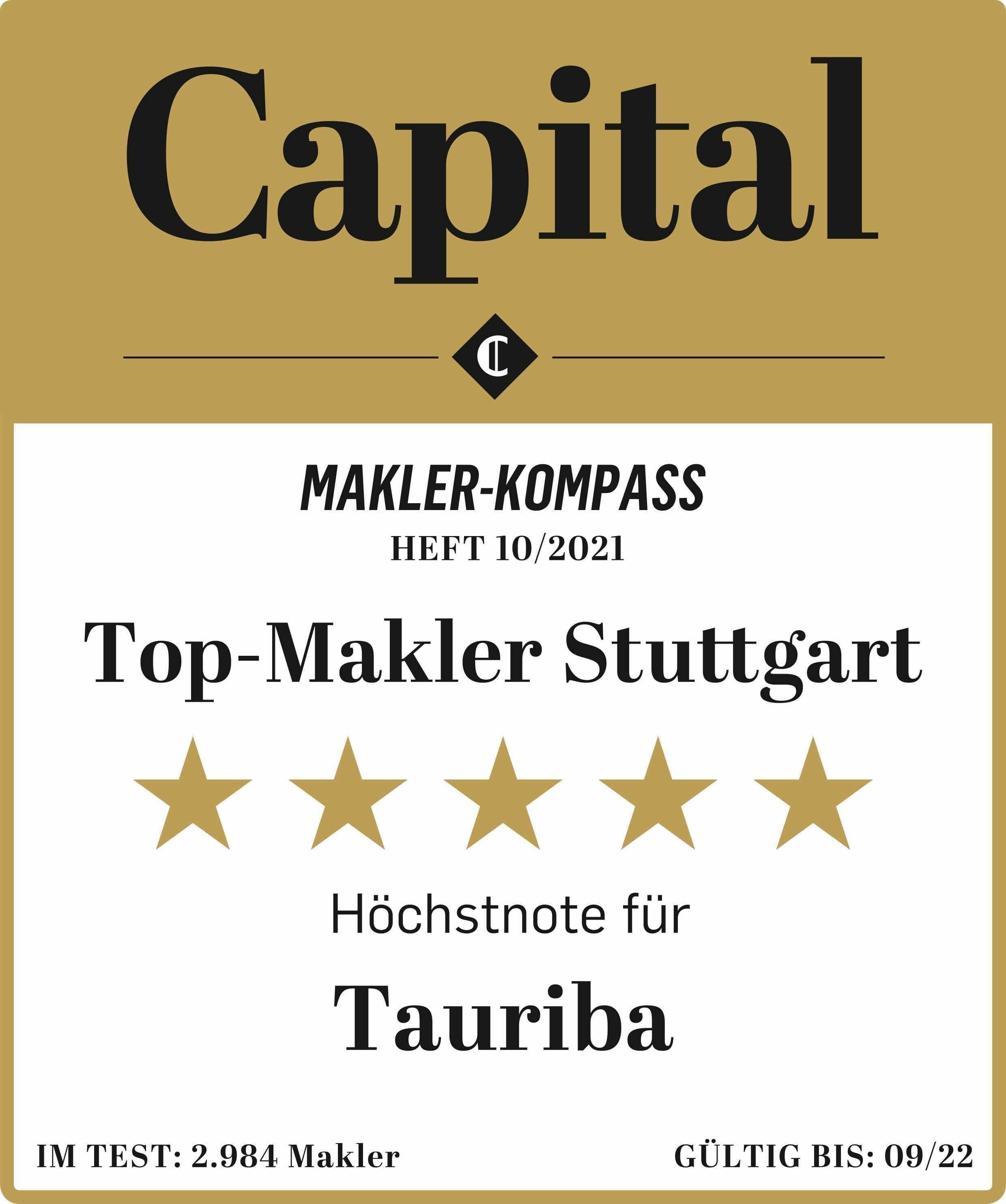 Top Makler Stuttgart TAURIBA