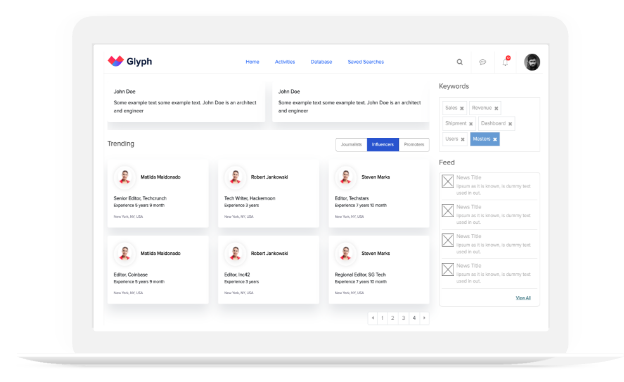 Glyph for Crypto and Fintech Startups