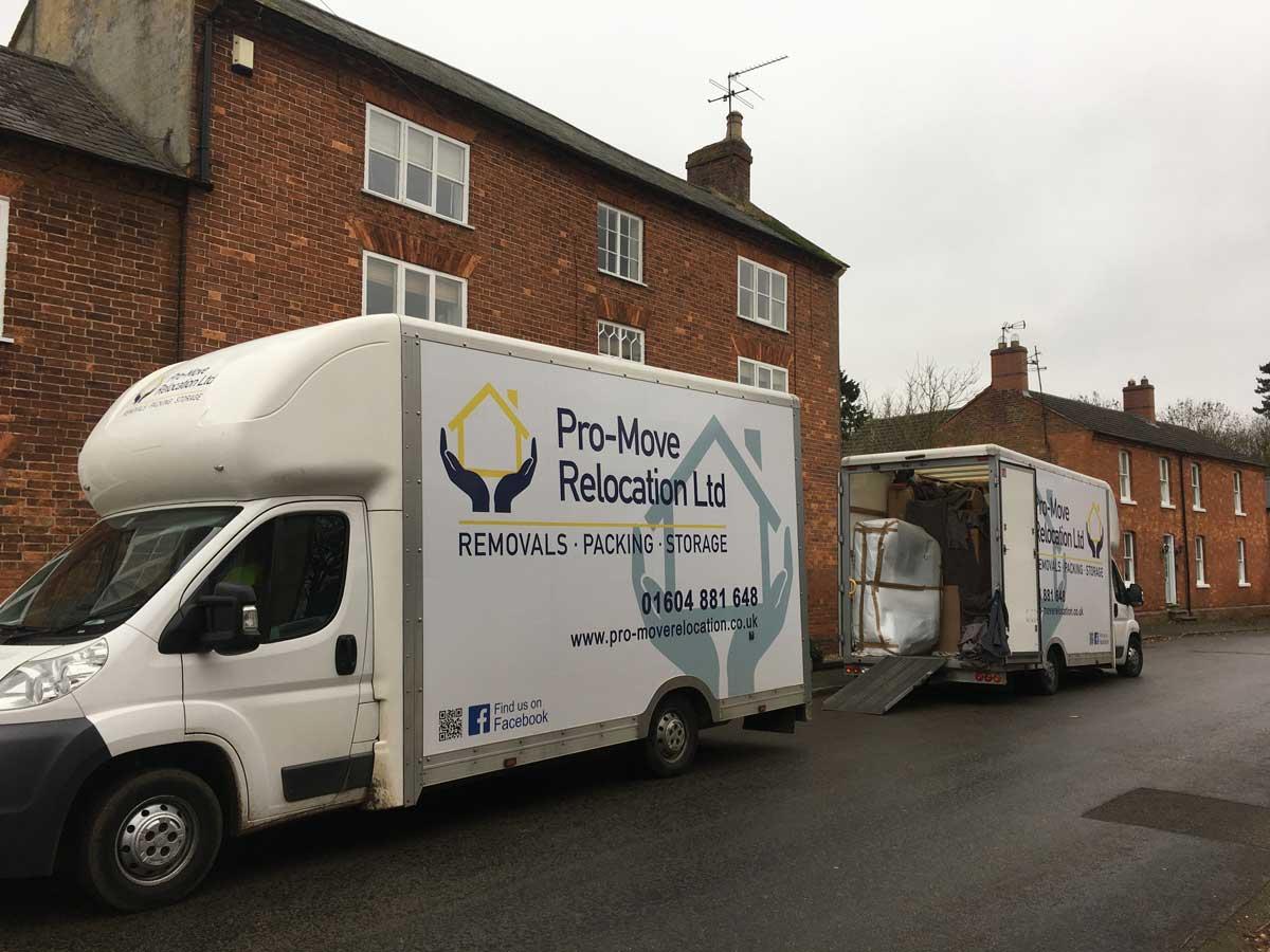 removals northamptonshire